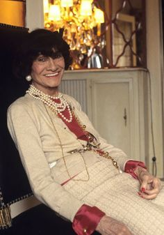 Coco in 1969 #France #Fashion #Chanel