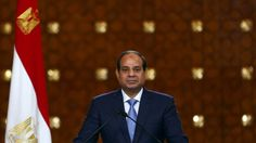 Egypt's President Abdul Fattah al-Sisi speaks during a news conference April 2015