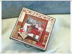Jorunns fristed: Melkehjerte boks. Frame, Cards, Tutorials, Home Decor, Homemade Home Decor, A Frame, Maps, Frames, Hoop