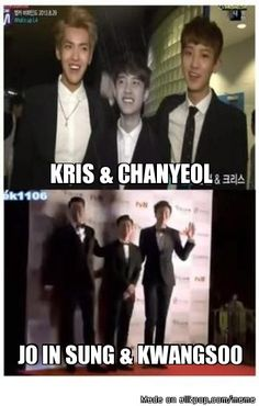 D.O between twin towers...adorable!