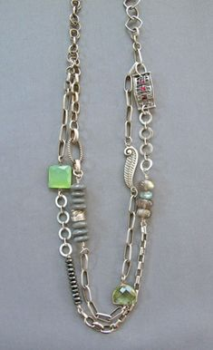 Dream Time Double Strand Necklace by Mirinda Kossoff