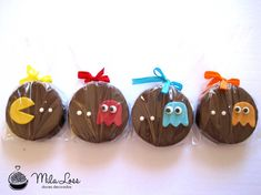 Mila Loss - Doces Decorados: Alfajor - Tema Pacman