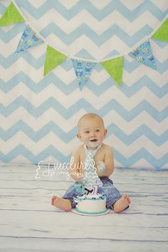 Aj's first birthday! // photography copyright Josie, J.McClure Photography