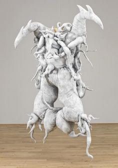Lee Bul Untitled (Cravings White) 1988, reconstructed 2011
