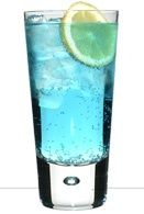 In the mood for some fruity goodness? Try the Blue Haze Cocktail!      2 Measures Green Mark Vodka,   1 Measure De Kuyper Triple Sec,  1 Measure De Kuyper Blue Curaçao,   Top off with Lemonade.