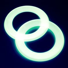 Glow In The Dark Loop Flying Discs