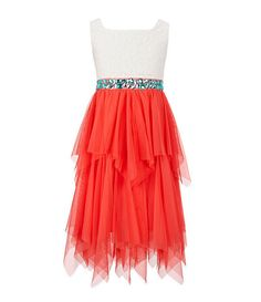 Tween Diva 7-16 Lace & Tulle Dress