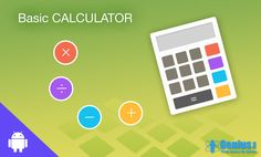 The Basic Calculator... #android #calculator