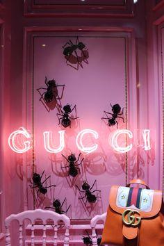 Gucci / Galeries Lafayette / Paris / 2016