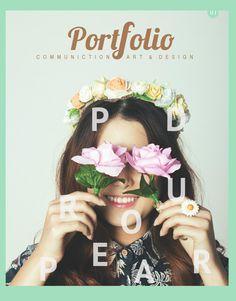 """Cover of """"Portfolio"""" Portfolio Design Books, Portfolio Covers, Portfolio Resume, Portfolio Layout, Portfolio Website, Book Design, Cover Design, Print Layout, Layout Design"""