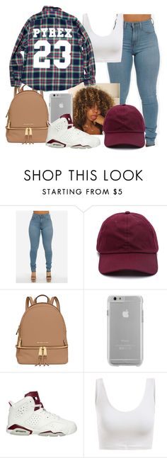 """""""Untitled #184"""" by khanyajane on Polyvore featuring MICHAEL Michael Kors, Case-Mate and NIKE"""