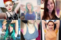 Women dyeing their armpit hair is now a thing -- The latest trend in hair care has nothing to do with your head. Instagram accounts devoted to female body hair are popping up across the social media site, with one very hair-raising trend — women ...