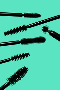 Mascara Brushes for Martha Stewart.  Photography by Greg Broom.