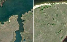 Kazakhstan: Gigantic Pentagram Spotted On Google Earth