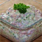 Slovak Recipes, Czech Recipes, Ethnic Recipes, No Salt Recipes, Cooking Recipes, Food 52, Yummy Treats, Salad Recipes, Potato Salad