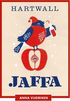Jaffa-joulujulisteet ja -kortit / Seasonal greeting cards and posters by Jaffa Vintage Travel, Vintage Ads, Vintage Posters, Vintage Photos, Ad Photography, Vintage Photography, Underwater Photography, Graphic Design Posters, Graphic Design Illustration