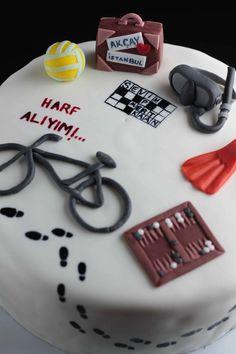 #pasta #hobi #voleybol #seyahat #tavla #bulmaca #Akçay #yürüyüş #kelimeoyunu #şekerhamuru #cake #boutiquecake #fondant #handmade #instacake #picoftheday #sugarcraft #pasta #butikpasta #şekerhamuru #elemeği #cakeoftheday #bicycle #scuba #diving #backgammon #crossword #hobbycake #volleyball #walking