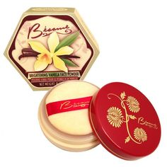 Velvety soft powder with yellow tint that helps control rednessand has a delicate vanilla scent. Perfect for light to medium skin.Can be usedrepeatedly during the day to remove shine or set make-up withoutbuild-up. Wear it alone, over foundation, or around eyes to instantly lighten dark circles.   Formulated without Parabens Gluten-Free Made in the USA  Also available at Sephora.com Clickhere to purchase.