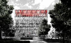 E2A gewinnen Wettbewerb für taz-Neubau in Berlin / Genossen-Konstruktivismus - Architektur und Architekten - News / Meldungen / Nachrichten - BauNetz.de
