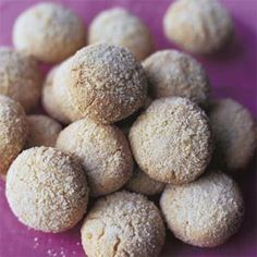 Almond Butter Cookies   almond paste  almond extract  finely chopped almonds  ALMONDY-licious!