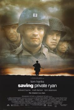 tom hanks movie posters | Saving Private Ryan Movie Poster 11x17 Tom Hanks Edward Burns Tom