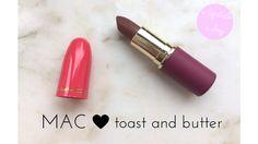 mac toast and butter lipstick Butter Lipstick, Beauty Corner, Blue Sparkles, Toast, Mac, Lipstick, Poppy