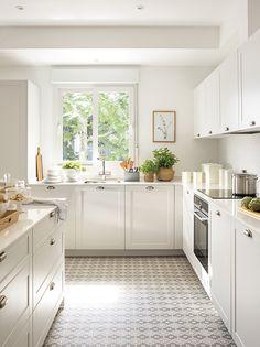 00481007. cocina blanca pequeña 00481007