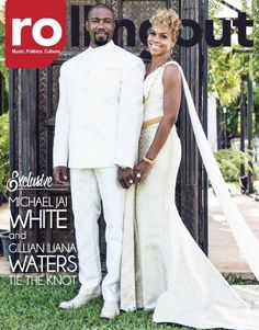 Exclusive: Michael Jai White and Gillian Iliana Waters tie the knot