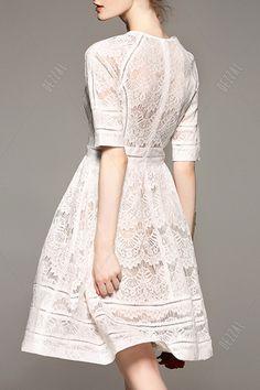Lace A Line Dress