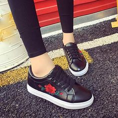 ecea32c8f school shoes for teens girls · HCFKJ Fashion Women s Straps Sports Lace up  Running Sneakers Ladies Teens Girls Embroidery Flower Summer Flat