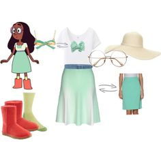 """Connie: Steven Universe"" by katewithpaint on Polyvore"