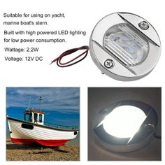 Marine Led Navigation Compass Light For Sail Ship 12v Boat Yacht White/black Beautiful In Colour Marine Hardware Automobiles & Motorcycles