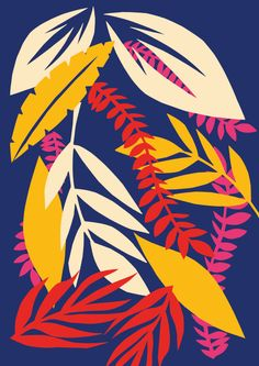 Wall Art Print Tropical Leaf Print Minimalist Poster Prints Modern Print Wall Art Digital Print Leaf Wall Art Minimalist is part of Print design art - CarolyneCollinsPrint Leaf Prints, Wall Art Prints, Poster Prints, Bold Prints, Graphic Prints, Leaf Wall Art, Leaf Art, Art And Illustration, Guache