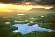 National Park Cabin: Esker Stream Cabin, Yakutat, Alaska $25/night 9.6 million acres of wilderness all to yourself.