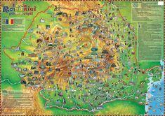 Romania Tourist Map harta romaniei pentru copii childrens map of romania dinos maps 1024 X 723 Pixels Tourist Map, Romania, City Photo, Maps, School, Google, Blue Prints, Map, Cards