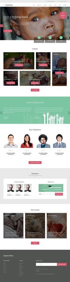 Giving - NGO and Charity HTML Template with Builder and Dashboard - ngo templates