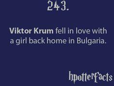 Harry Potter Facts Viktor Krum