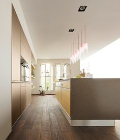 Fitted kitchens | Kitchen systems | vao linee kitchen | TEAM 7. Check it out on Architonic