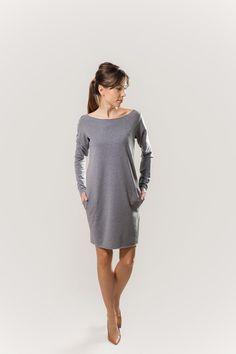 Kleider - Sweatkleid :) - ein Designerstück von AfterHours bei DaWanda
