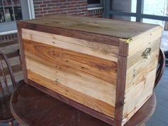 Another Scrap Pallet Project