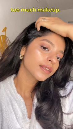 Makeup Eye Looks, Cute Makeup, Gorgeous Makeup, Simple Makeup, Skin Makeup, Doll Eye Makeup, Glow Makeup, Pretty Makeup Looks, Makeup Hacks Videos