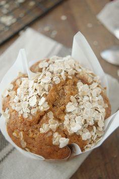 Muffins de miel, avena y manzana, los más sencillos que conozco | Cocina