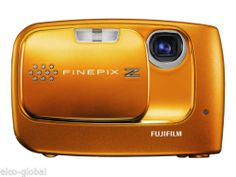 Fujifilm FinePix Z30 10.0 MP Digital Camera - Tangy orange