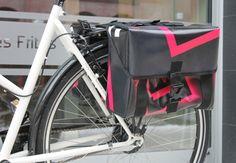 Fahrradtasche handgefertigt Berlin Unikat