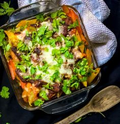 Baked Rigatoni Pasta with Ground Beef – is an easy, cheesy dinner recipe where rigatoni pasta is layered with meat sauce then topped with loads and loads of cheese and baked until the top turns golden brown. Best Ground Beef Recipes, Ground Beef Recipes For Dinner, Dinner Recipes, Baked Rigatoni, Brown Recipe, Recipe Pasta, Meat Sauce, Spaghetti Sauce, Smoked Paprika