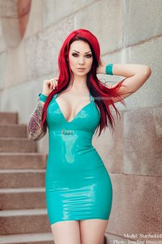 Good morning Soon off to work Wish I could stay in my bed all day Amazing dress by ladylucielatex Photographer josefinejonsson ✨ #sunshirts #t #shirt https://www.sunfrog.com/Best-Sellers/?7833