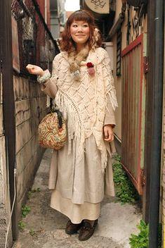 japanese crochet shawl