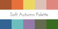 soft autumn color palette color analysis More