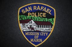 San Rafael Police Patch, Marin County, California (Current Issue)