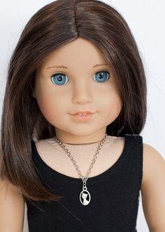 American Girl doll cat necklace by EverydayDollwear on Etsy